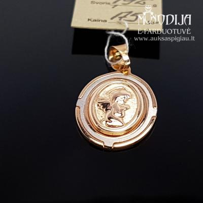 Angeliukas su baltu auksu