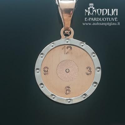 Laikrodukas su baltu auksu