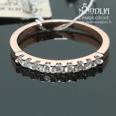 Žiedas su briliantais