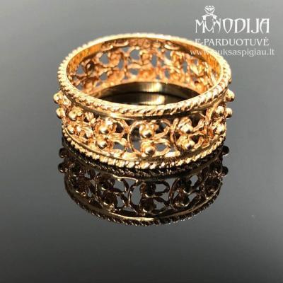Vintažinis 750 prabos žiedas