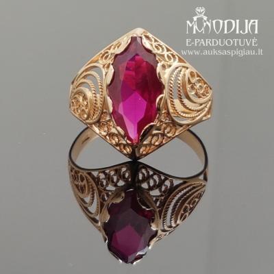 Vintažinio stiliaus žiedas