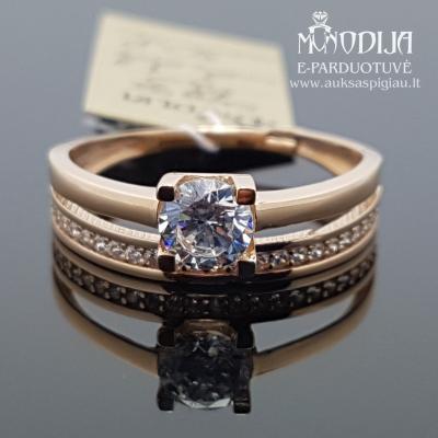 Žiedas su akmenukais