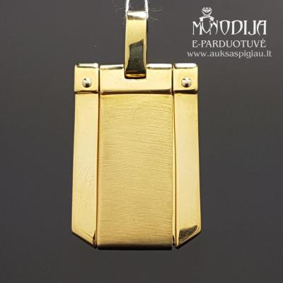 Geltono aukso pakabukas (750)