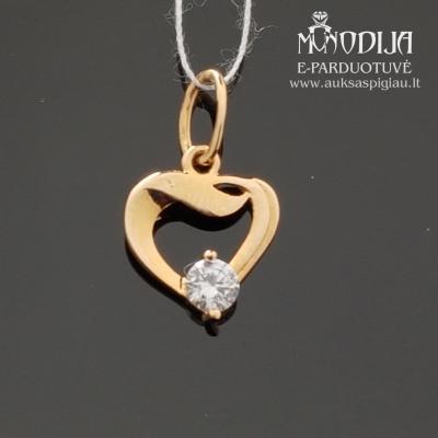 Auksinė širdelė