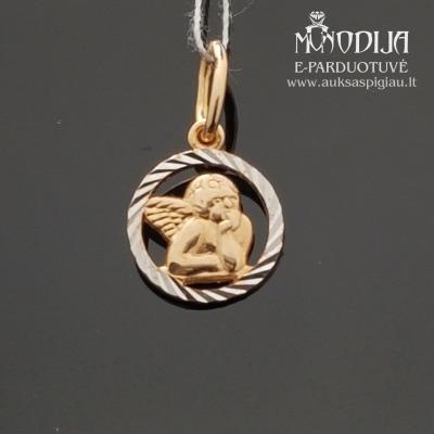 Auksinis pakabukas - angeliukas
