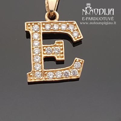 Auksinė E raidelė