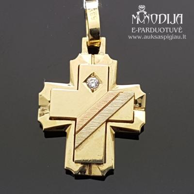 Geltono aukso kryžius