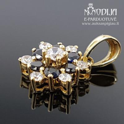Geltono aukso pakabukas