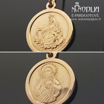 Auksinis pakabukas Jėzus