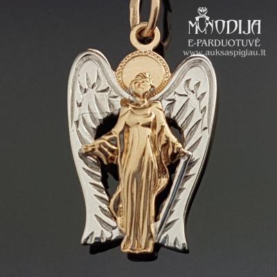 Auksinis pakabukas Angeliukas