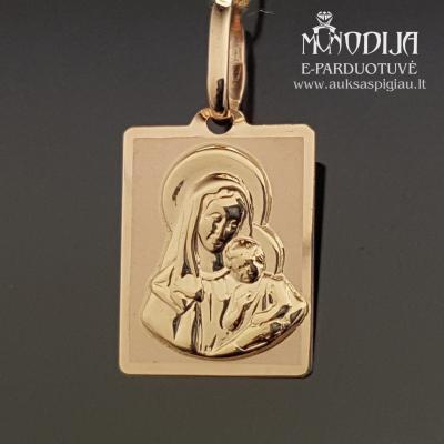 Auksinis pakabukas Marija