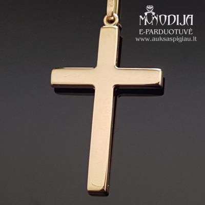 Auksinis pakabukas Kryžius